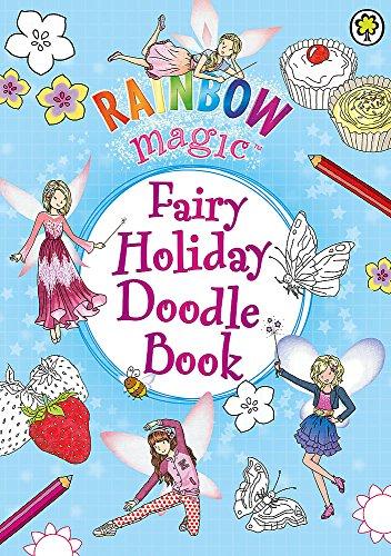 9781408337943: Fairy Holiday Doodle Book (Rainbow Magic)