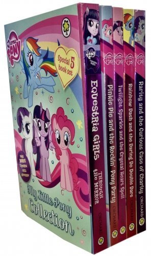 9781408340394: My Little Pony Equestria Girls adventure 5 Books Collection Set Pack (Pinkie Pie, Twilight Sparkles, Rainbow Dash, Rarity, Equestria Girls) by MY Little Pony