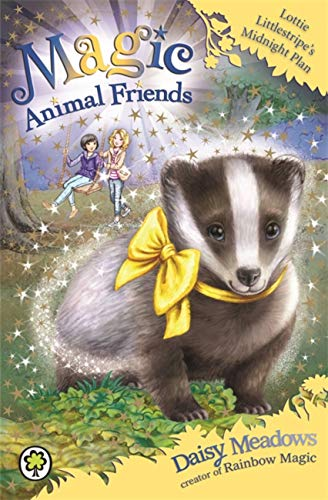 9781408341100: Magic Animal Friends: Lottie Littlestripe's Midnight Plan: Book 15