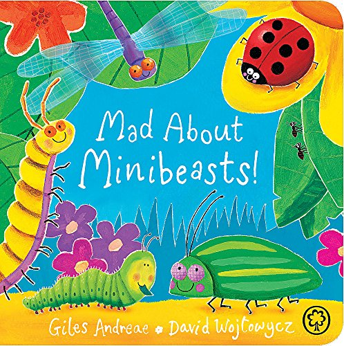 9781408341889: Mad About Minibeasts!