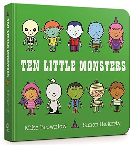 9781408346488: Ten Little Monsters Board Book