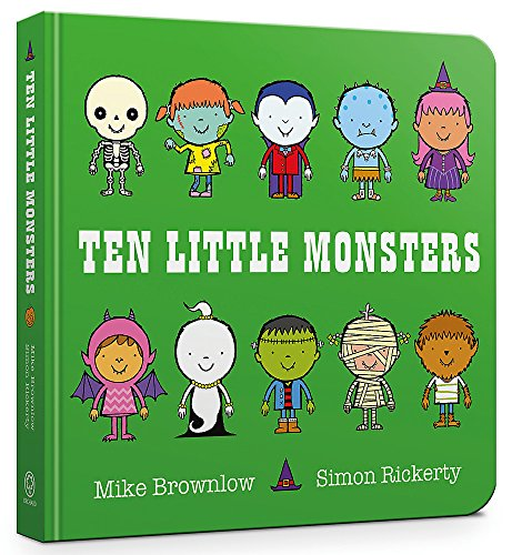 9781408346488: Ten Little Monsters: Board Book