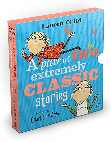 9781408350485: Charlie and Lola: Classic Gift Slipcase: A Pair of Two Extremely Classic Stories