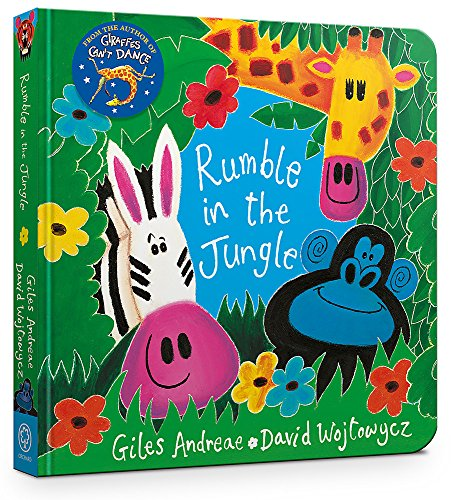9781408352519: Rumble in the Jungle: Board Book