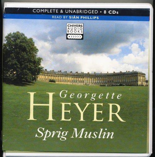 9781408403044: Sprig Muslin / UNABRIDGED ON CDS