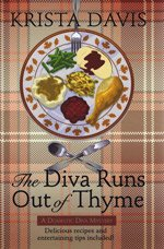 9781408432969: The Diva Runs out of Thyme (Large Print Edition)