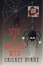 9781408456828: Spin a Wicked Web (Large Print Edition)