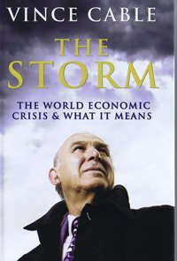 9781408459096: The Storm: The World Economic Crisis & What It Means (Large Print Edition)