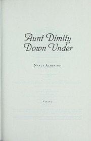 9781408491263: Aunt Dimity Down Under