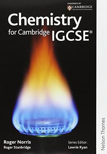 9781408500187: Chemistry for Cambridge IGCSE