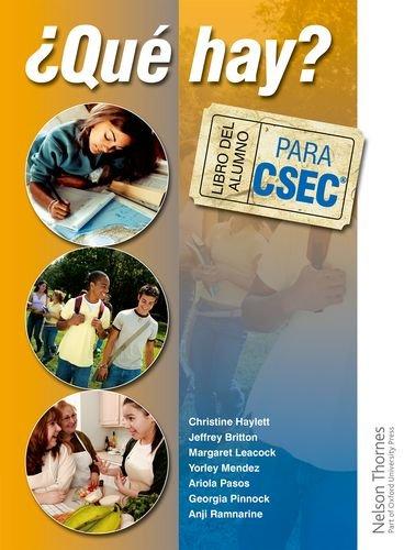 9781408502877: ?Que Hay? Libro del Alumno para CSEC