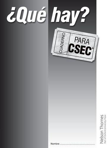 9781408502907: ?Que Hay? Cuaderno para CSEC