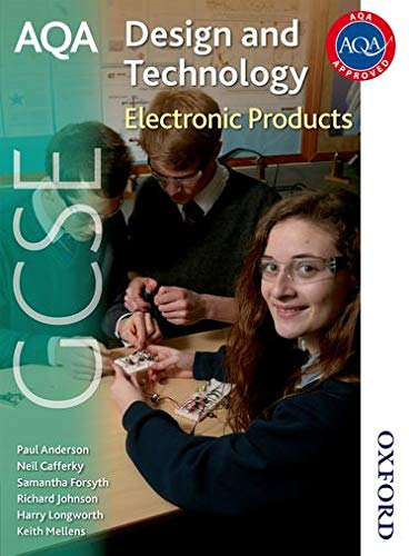 9781408504178: AQA GCSE Design and Technology: Electronic Products