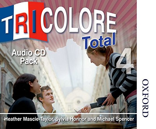 Tricolore Total 4 Audio CD Pack (8x: Honnor, S; Mascie-Taylor,