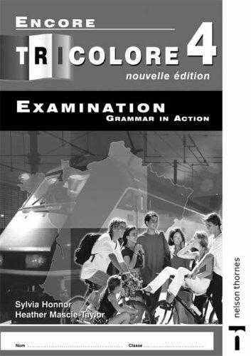 9781408505823: Tricolore Total 4 Examination Grammar in Action