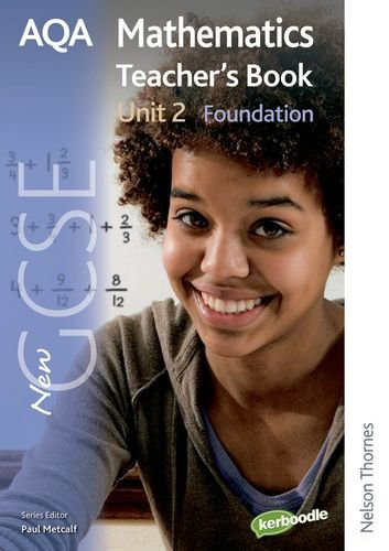 New AQA GCSE Mathematics Unit 2 Foundation Teacher's Book (1408506270) by June Haighton; Paul Winters; H Prior; S Burns; Shaun Procter-Green; David Pritchard; Tony Fisher; Margaret Thornton; Anne Haworth