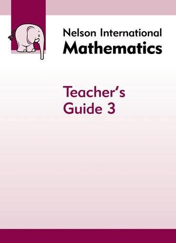 9781408507810: Nelson International Mathematics Teacher's Guide 3
