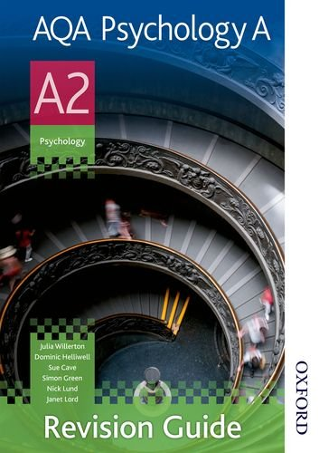 9781408508152: AQA Psychology A A2 Revision Guide