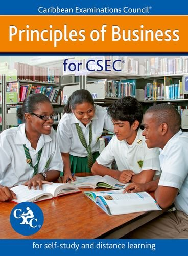 9781408509036: Principles of Business for CSEC - for self-study and distance learning