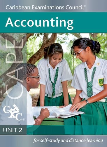 9781408509050: Accounting CAPE Unit 2 A Caribbean Examinations Council Study Guide