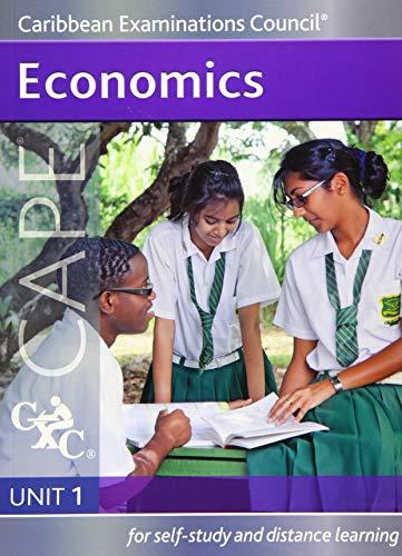 9781408509074: Economics CAPE Unit 1 A CXC Study Guide (Caribbean Examinations Council)