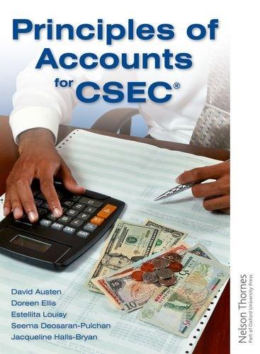 9781408509111: Principles of Accounts for CSEC