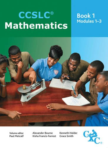 9781408509968: CCSLC Mathematics Student's Book Modules 1-3