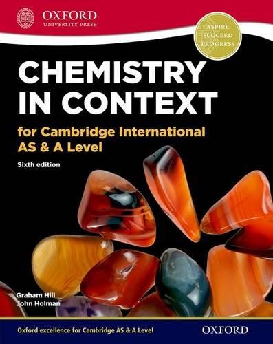 Chemistry in Context 6th Edition: Holman, John