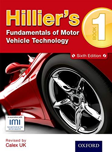 9781408515181: Hilliers Fundamentals of Motor Vehicle Technology 6th Edition Book 1