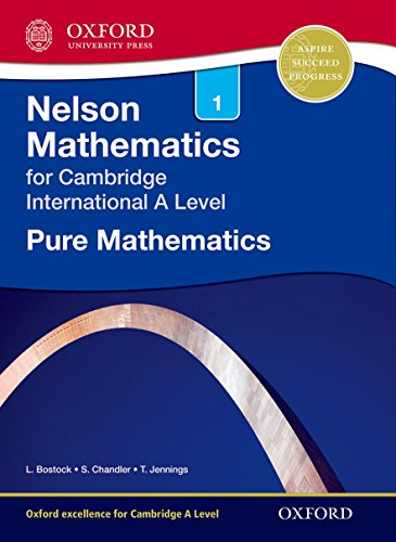 Pure Maths 1 For Cambridge Int A