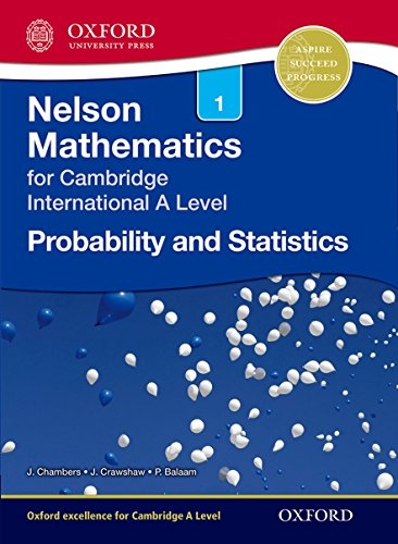 9781408515624: Nelson Probability and Statistics 1 for Cambridge International A Level
