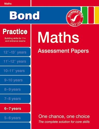 9781408515686: Bond Maths Assessment Papers 6-7 years