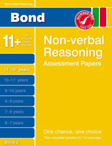 9781408515808: Bond Non-verbal Reasoning Assessment Papers 11+-12+ Years Book 2