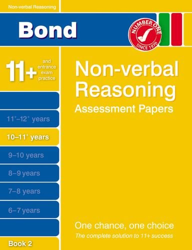 9781408515877: Bond Non-Verbal Reasoning Assessment Papers 10-11+ Years: Bk. 2