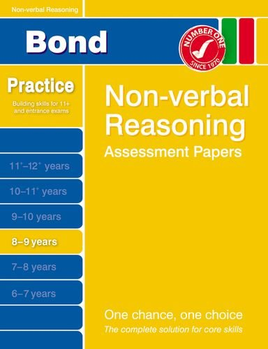 9781408516263: Bond Non-Verbal Reasoning Assessment Papers 8-9 Years (Bond Assessment Papers)