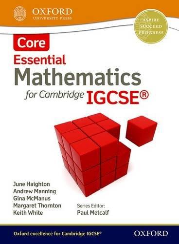 9781408516508: Mathematics for Cambridge IGCSE Core (CIE IGCSE Essential Series)