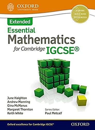 Essential Mathematics for Cambridge IGCSE Extended: Thornton, Margaret