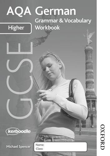 9781408516799: AQA GCSE German Higher Grammar and Vocabulary Workbook