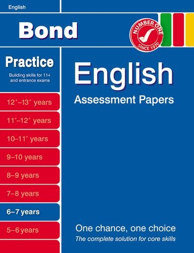 9781408516928: Bond English Assessment Papers 6-7 years