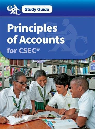 9781408517680: Principles of Accounts for CSEC: A CXC Study Guide (Caribbean Examinations Council)