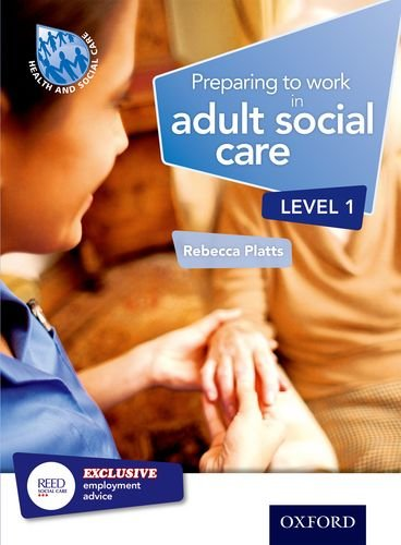 9781408518113: Preparing to Work in Adult Social Care Level 1
