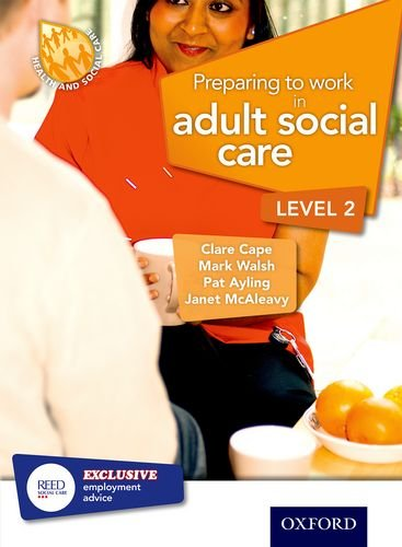 9781408518120: Preparing to Work in Adult Social Care Level 2