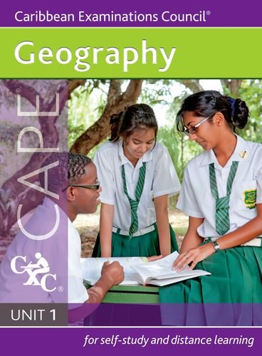 9781408518175: Geography CAPE Unit 1 A Caribbean Examinations Council Study Guide