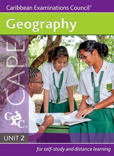 9781408518182: Geography CAPE Unit 2 A Caribbean Examinations Council Study Guide