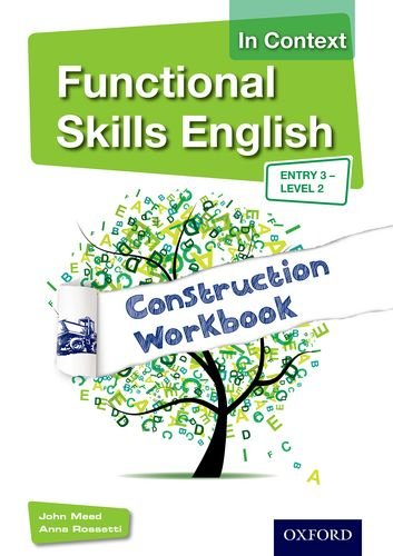 9781408518304: Functional Skills English In Context Construction Workbook Entry3 - Level 2