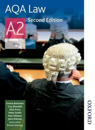 9781408519714: AQA Law A2 Second Edition