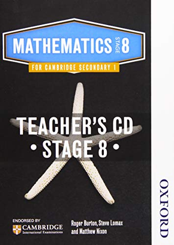 9781408519851: Essential Mathematics for Cambridge Secondary 1 Stage 8 Teacher CD-ROM (CIE IGCSE Essential Series)