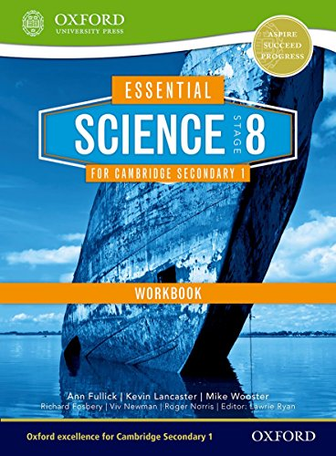 9781408520680: Essential Science for Cambridge Secondary 1- Stage 8 Workbook (CIE IGCSE Essential Series)