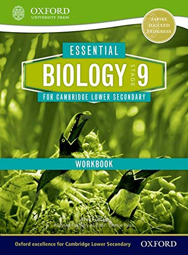 9781408520710: Essential Biology for Cambridge Secondary 1 Stage 9 Workbook