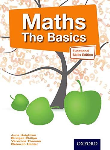 9781408521120: Maths the Basics Functional Skills Edition (E3-L2)